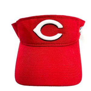 MLB Cincinnati Reds Visor One Size Youth